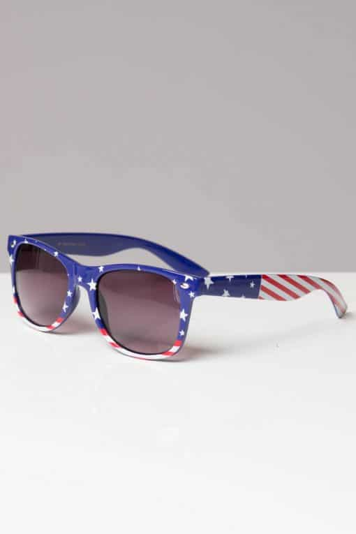 Square American Flag Sunglasses
