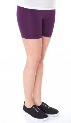 Short Bike Shorts - Purple