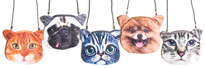 cat and dog purse banner