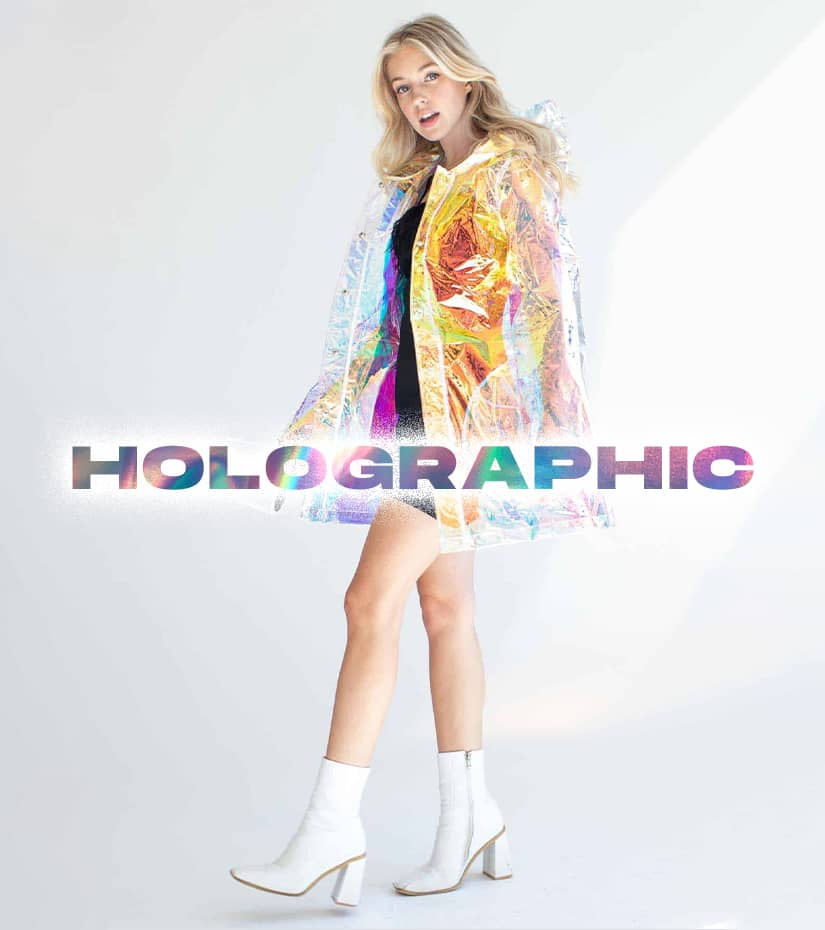 shop holographic clothing