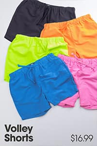 colorful men's shorts