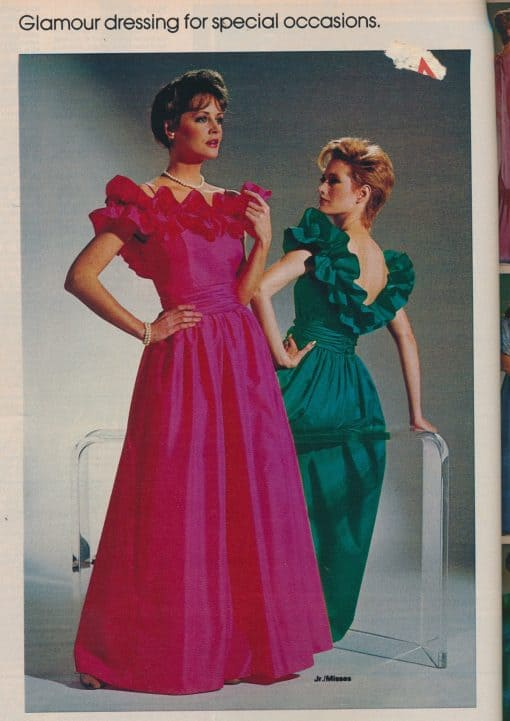 80s fashion dresses