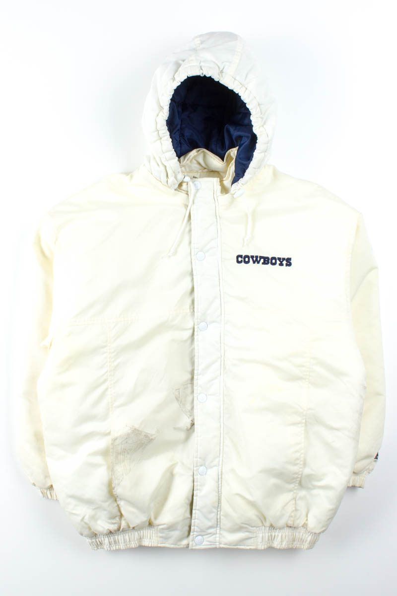 official photos bbb91 ee2f6 Dallas Cowboys Puffer Starter Jacket