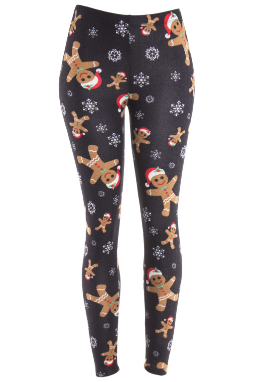 black gingerbread man leggings  sc 1 st  Ragstock.com : gingerbread costume for adults  - Germanpascual.Com