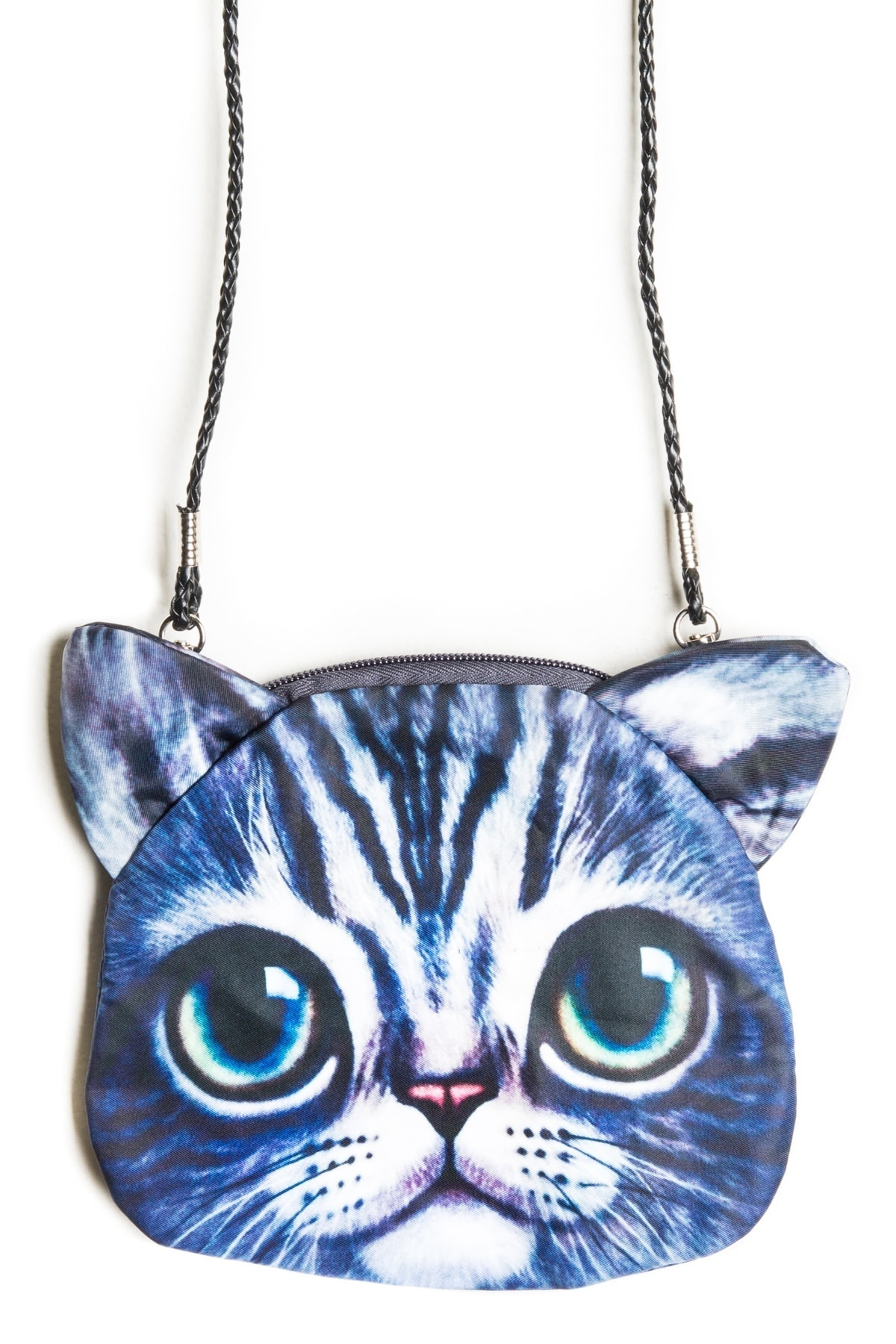cat purse big eyes