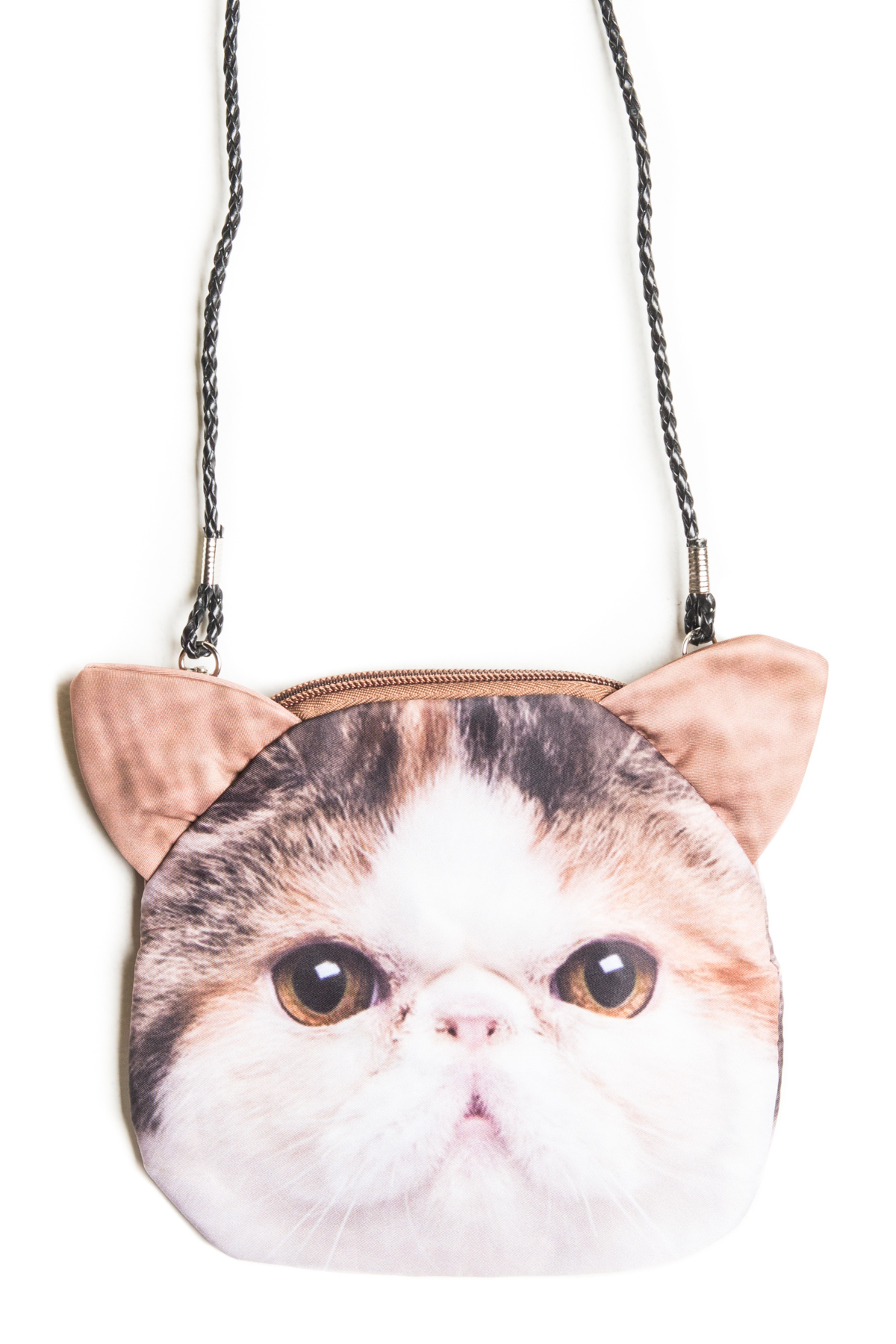 cat purse cinnamon