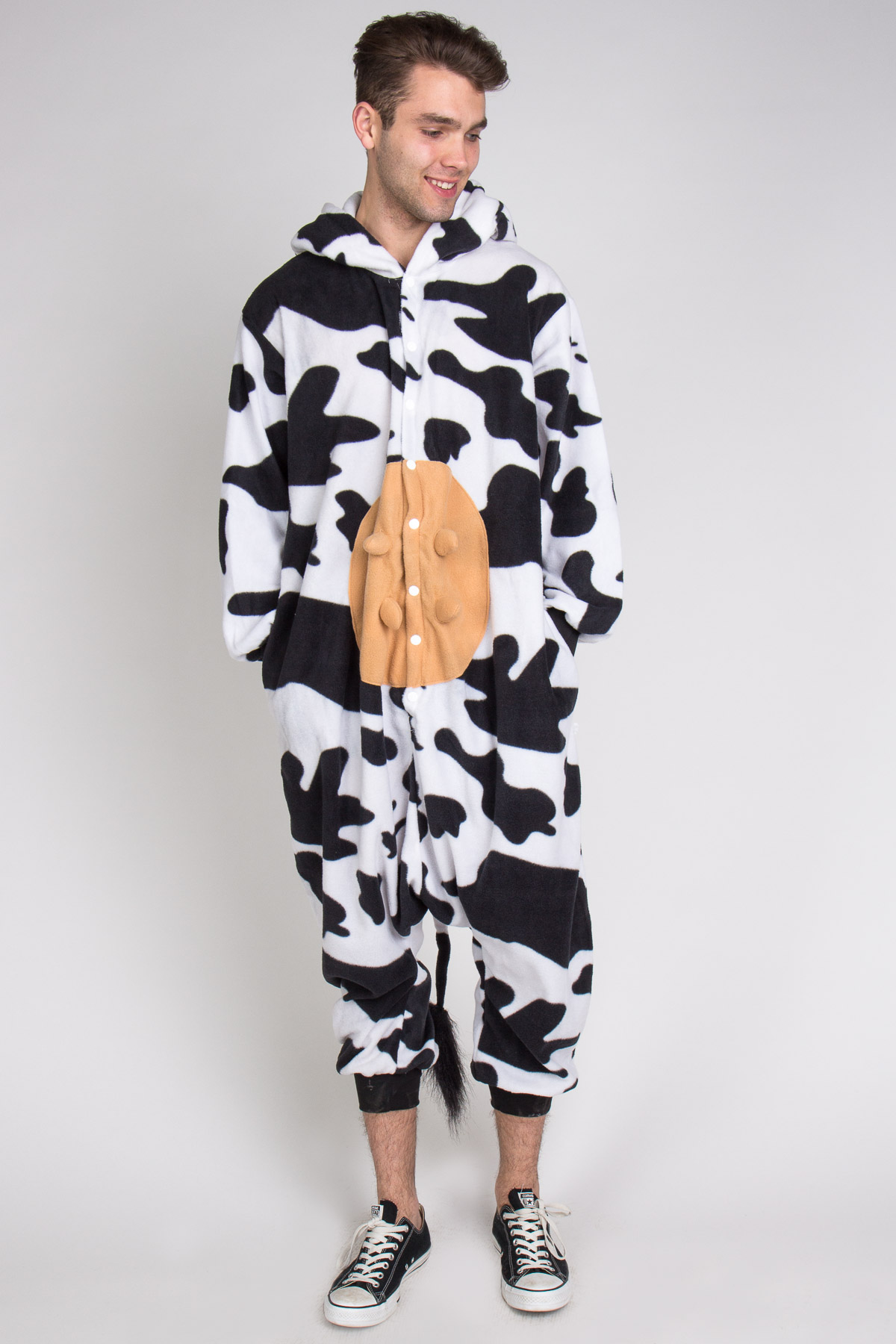 cow onesie pajamas