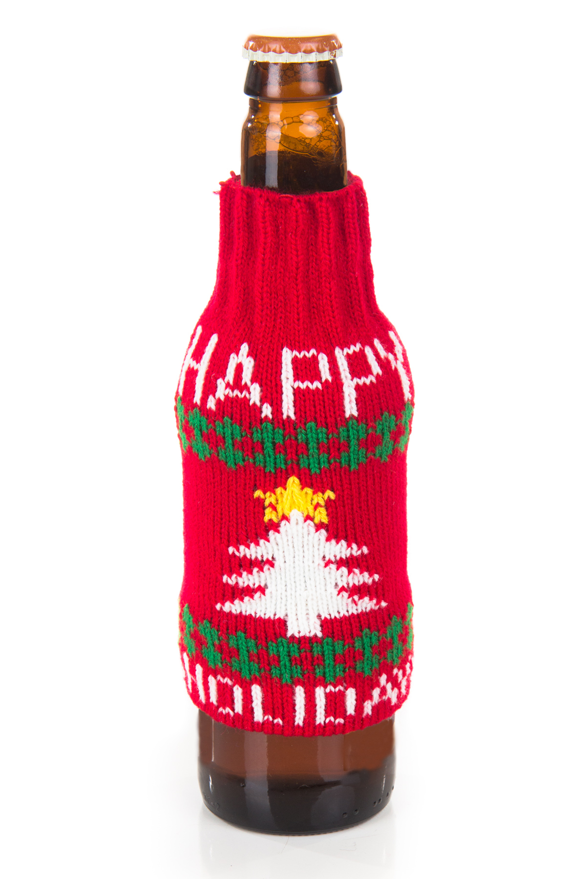 happy holidays ugly beer sweater