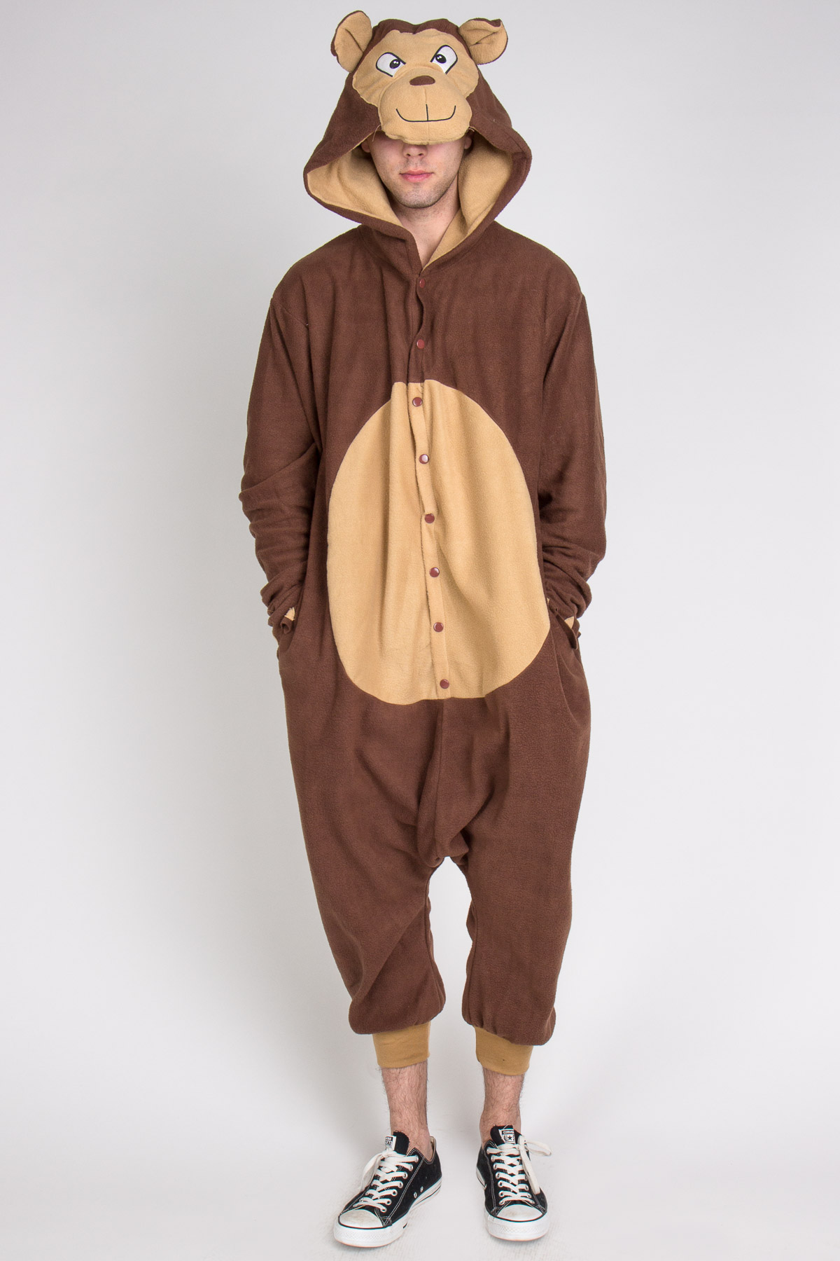 monkey onesie pajamas