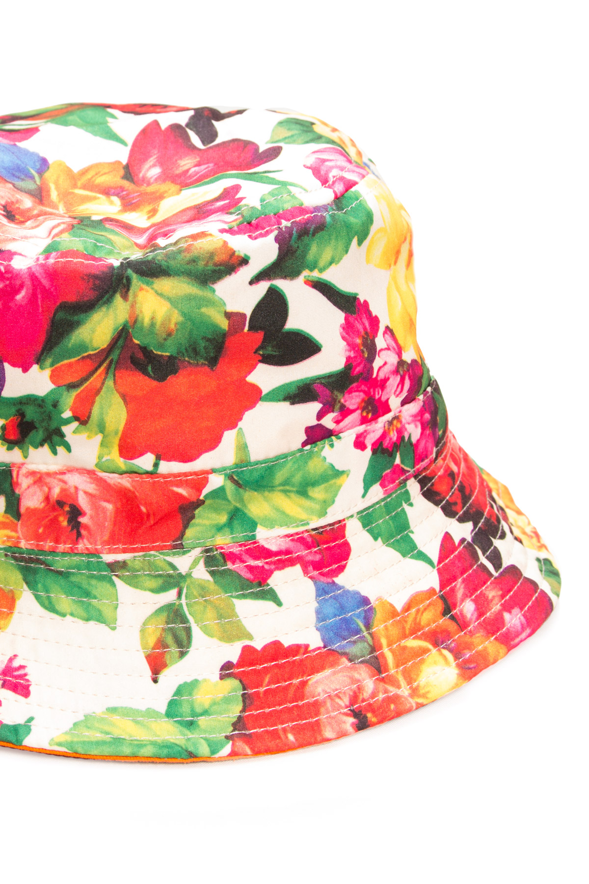 Pink Floral Bucket Hat - Ragstock 0a8d6c6f16c