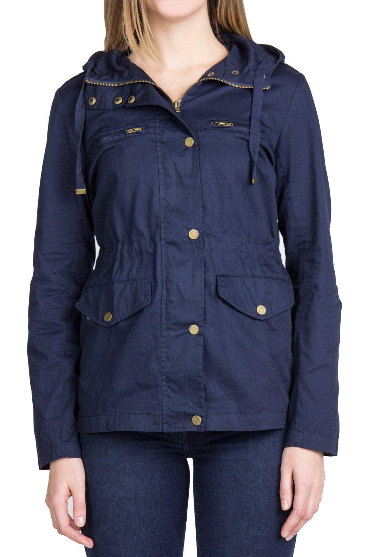 Navy anorak jacket