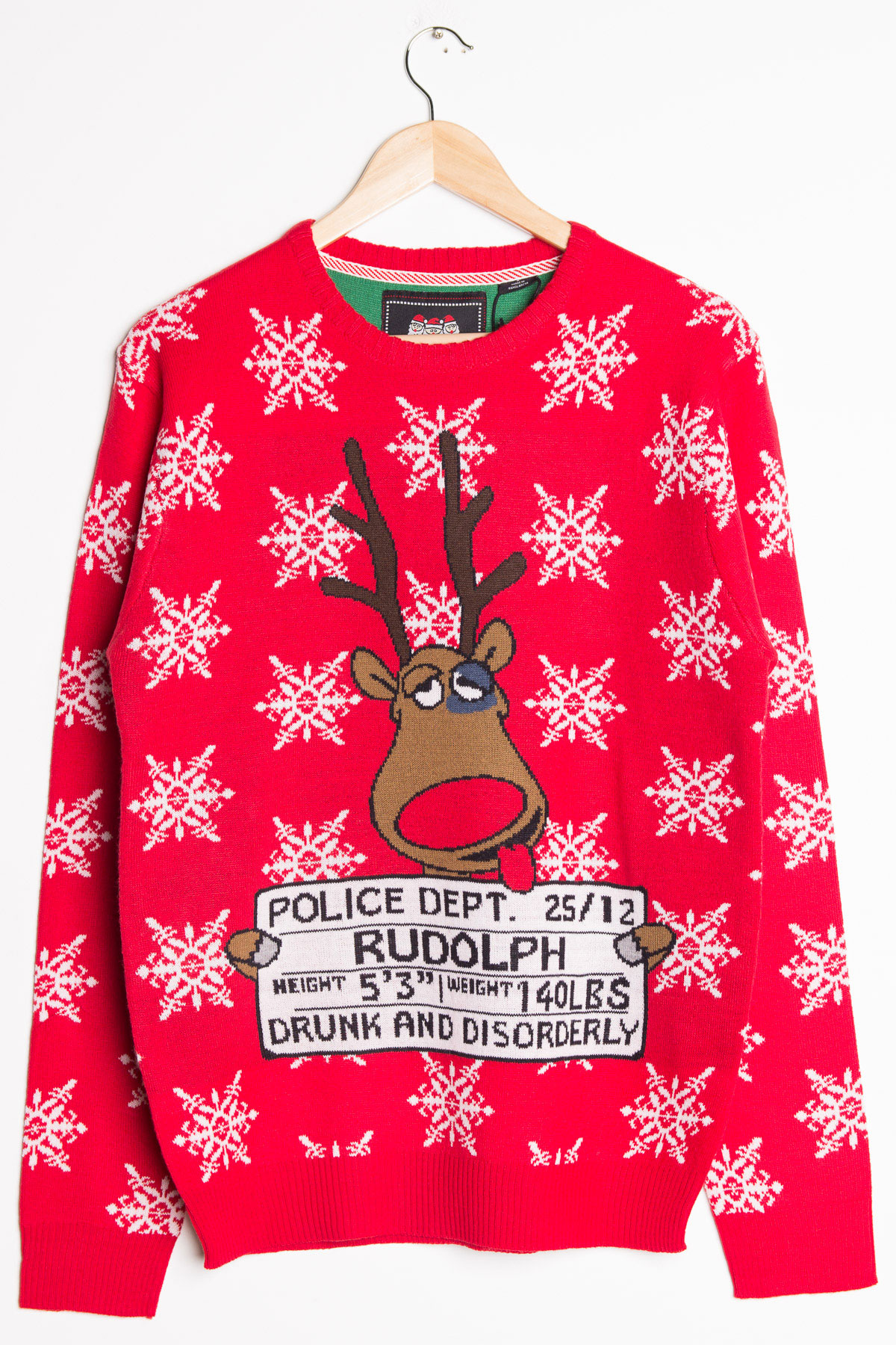 drunk and disorderly ugly christmas sweater ragstock - Christmas Jacket