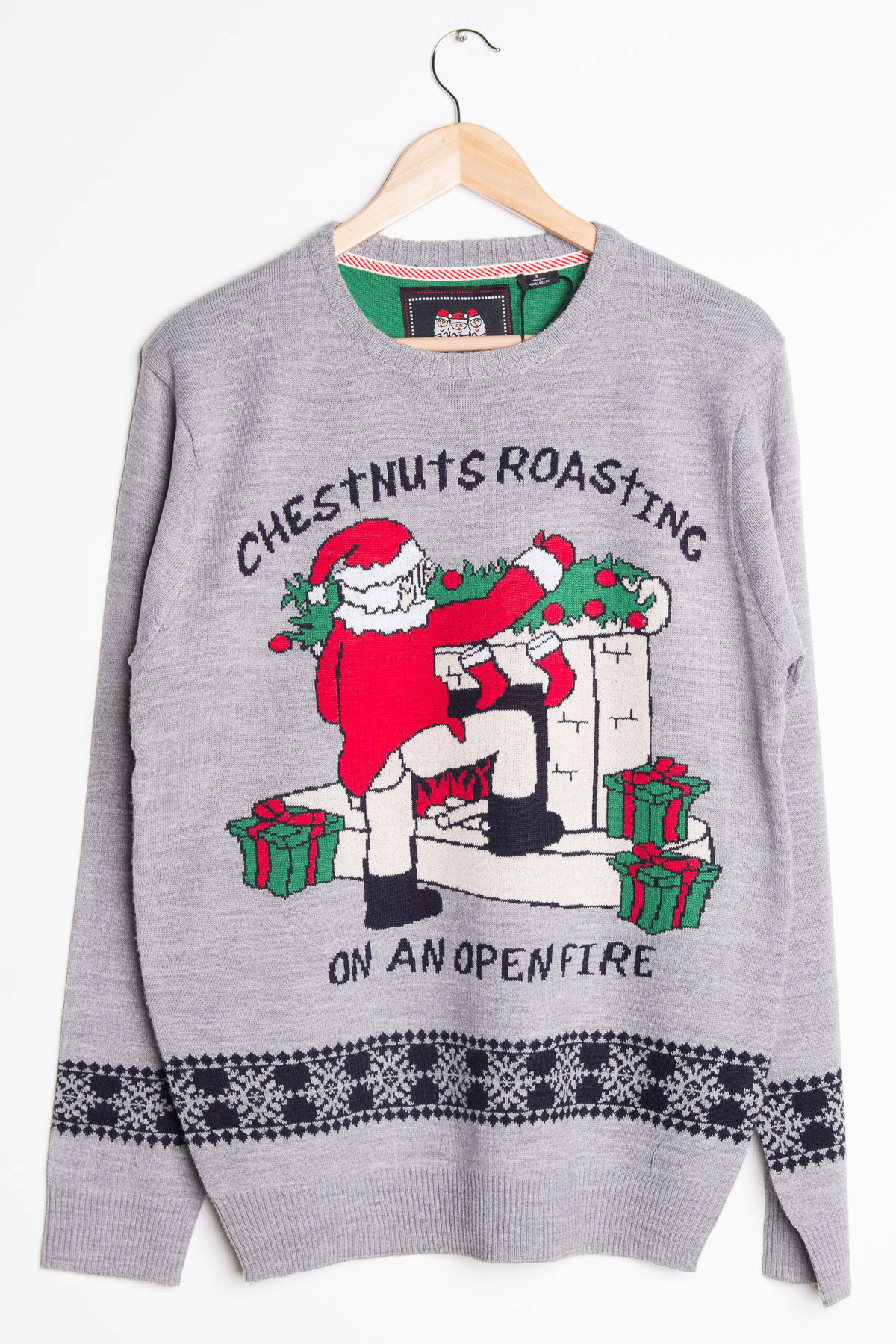 Ugly Christmas Sweater Chestnuts - Chrismast Cards Ideas