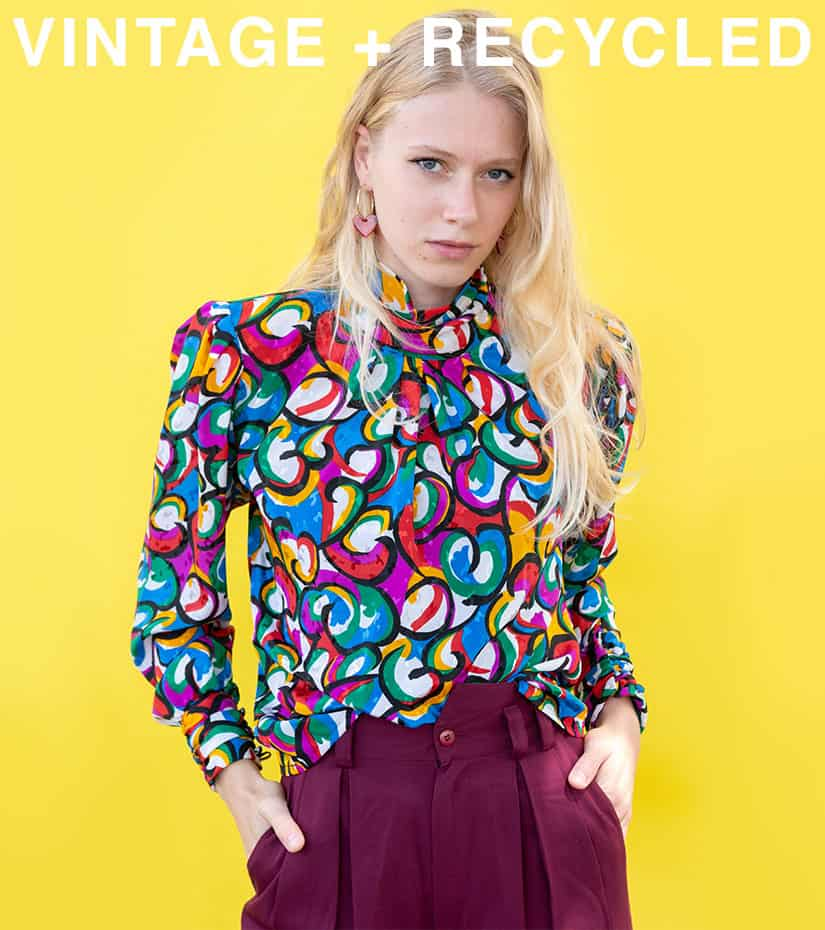 shop vintage + recycled
