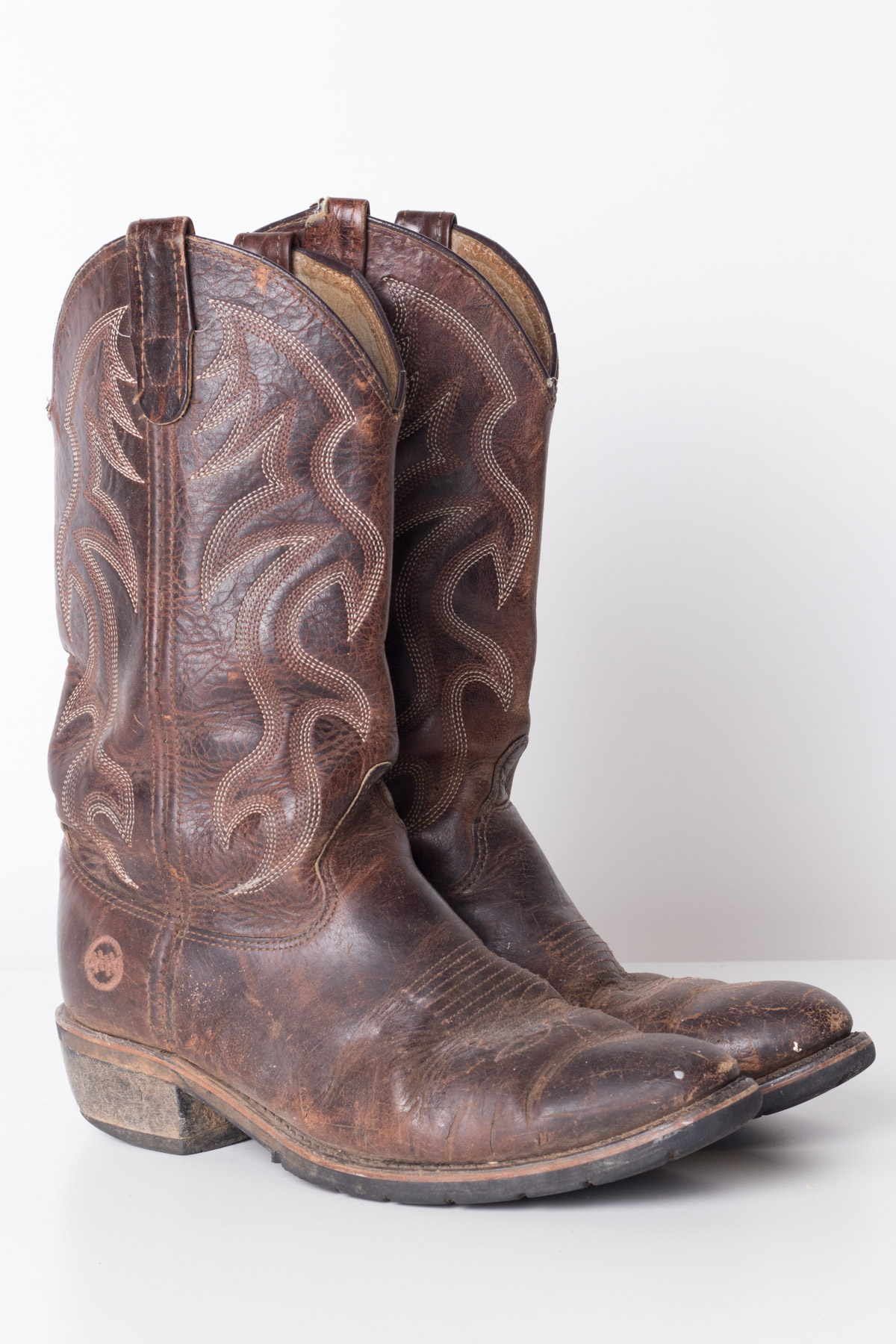 12744831ed0 Double H Vintage Cowboy Boots (8EEE)