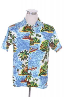 Vintage Hawaiian Shirt 44 1