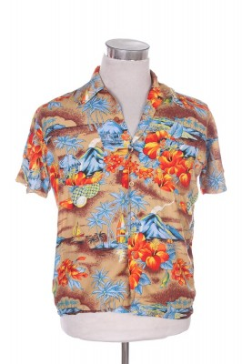 Vintage Hawaiian Shirt 66 1
