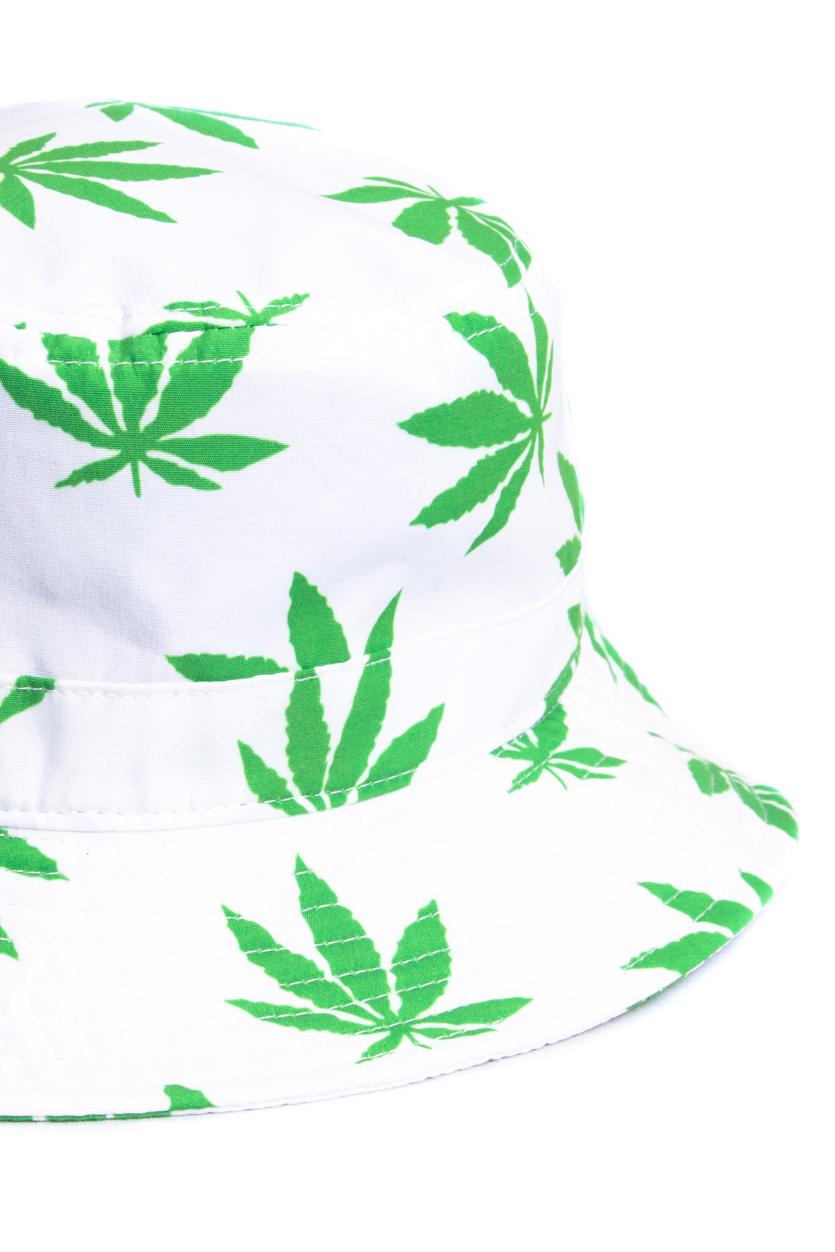 white leaf mj bucket hat