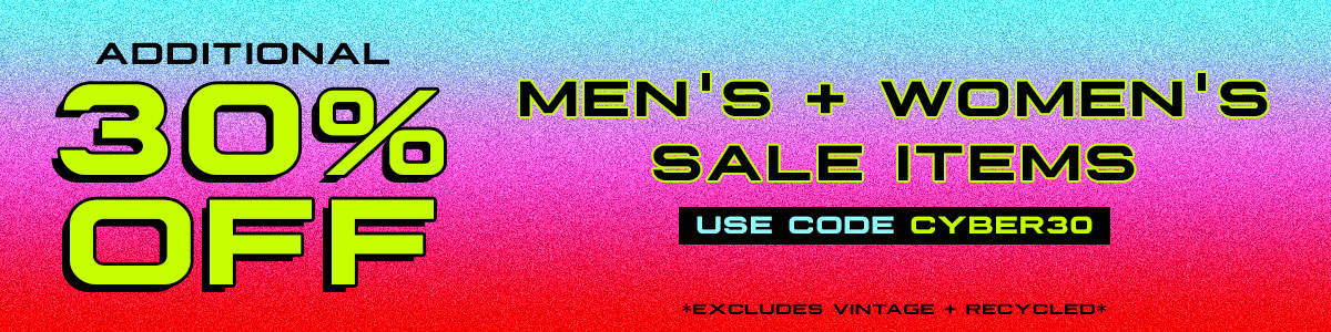 additional 30% off men's and women's sale items promo