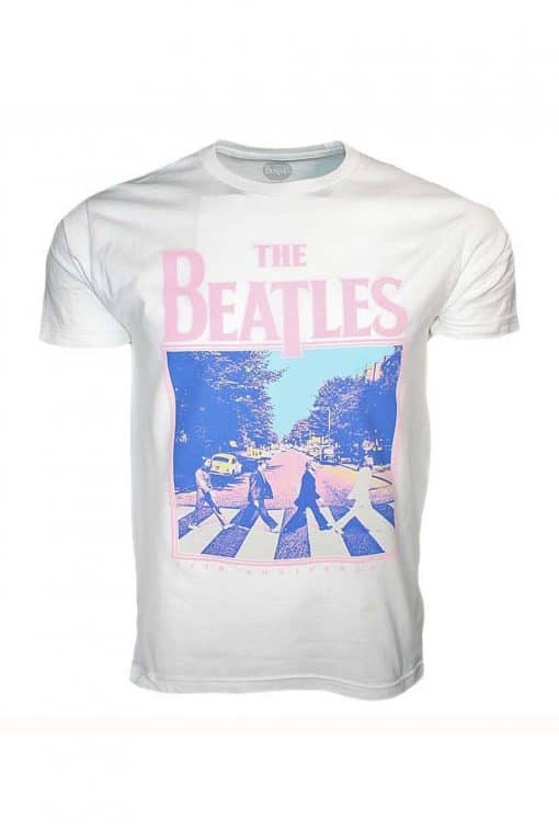 Beatles 50th Anniversary Abbey Road White T-Shirt