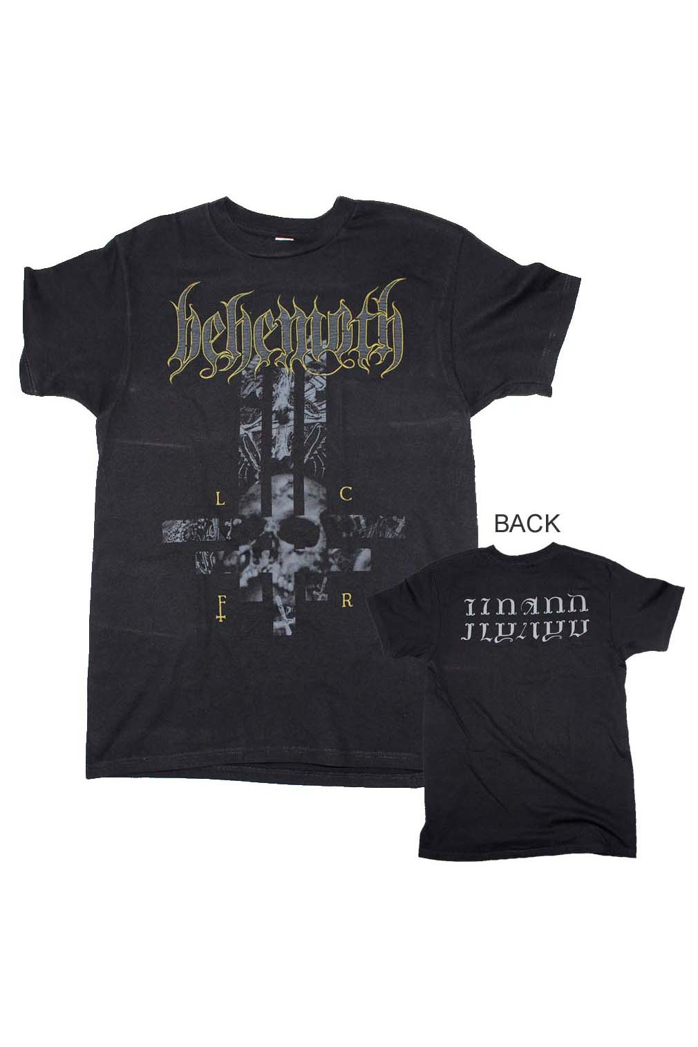 Behemoth LCFR Cross T-Shirt