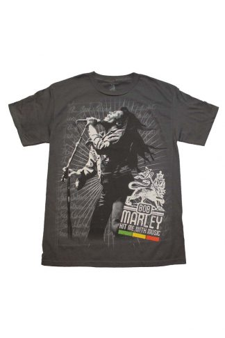 Bob Marley Hit Me T-Shirt
