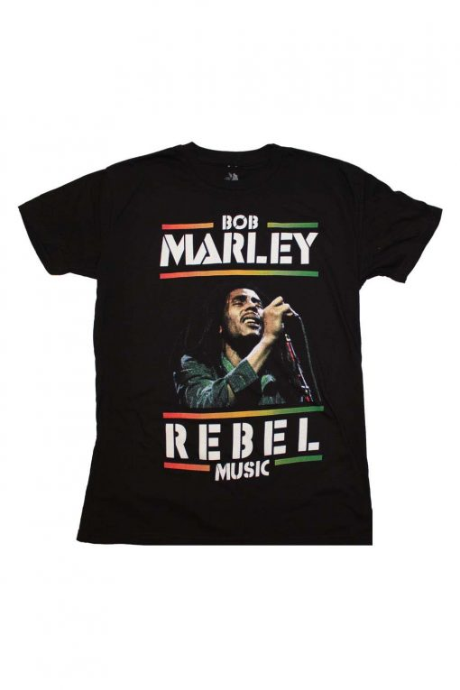 Bob Marley Rebel Music T-Shirt