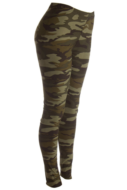 green army camo leggings