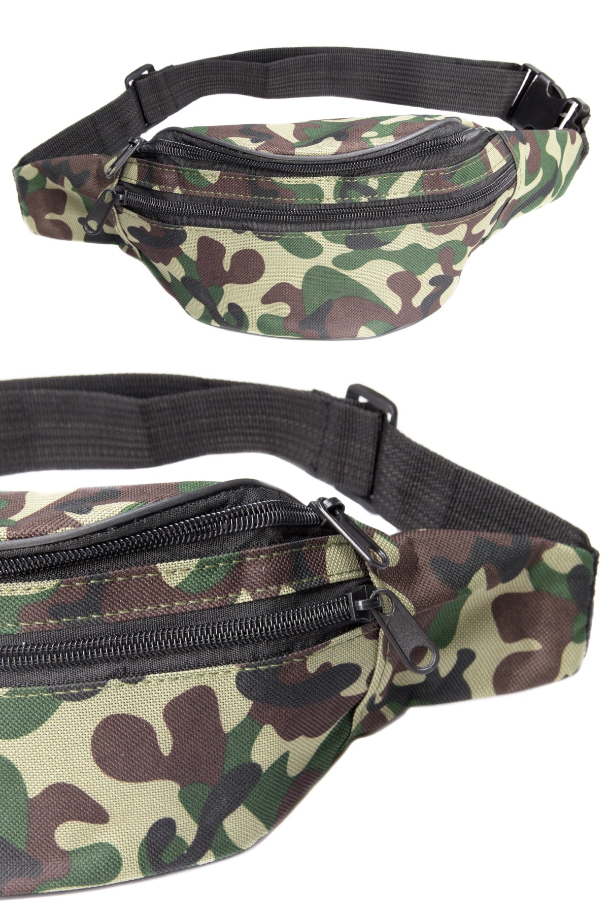camo classic army fanny pack