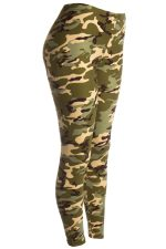green camouflage leggings army