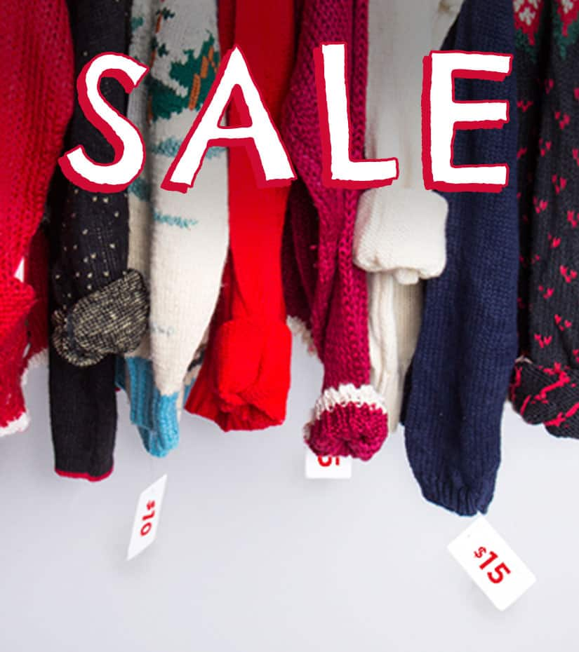 vintage christmas sweaters on sale