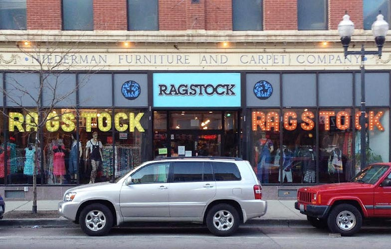 Chicago Vintage Clothing Ragstock Wicker Park