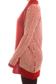 chunky-knit-cardigan-sweater-red-side