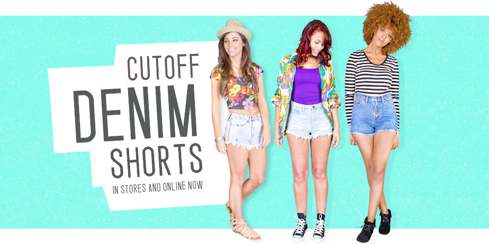 cutoff denim shorts Home