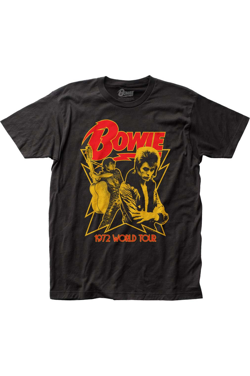 David Bowie 1972 World Tour T-Shirt