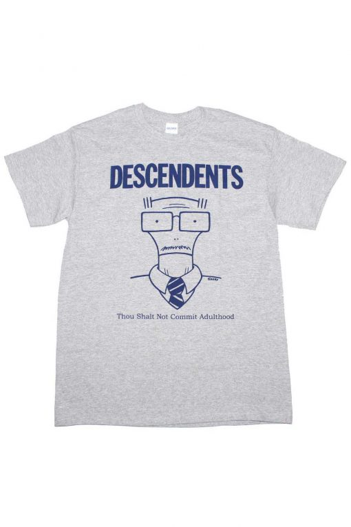 Descendents Though Shall Not Commit Adulthood T Shirt