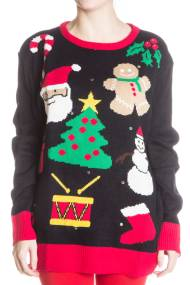 everything xmas sweater 190x285 Ugly Christmas Sweaters