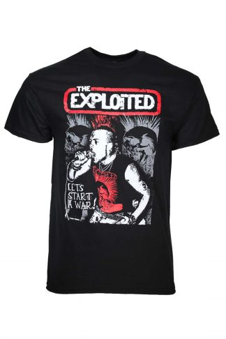 Exploited Let's Start a War T-Shirt