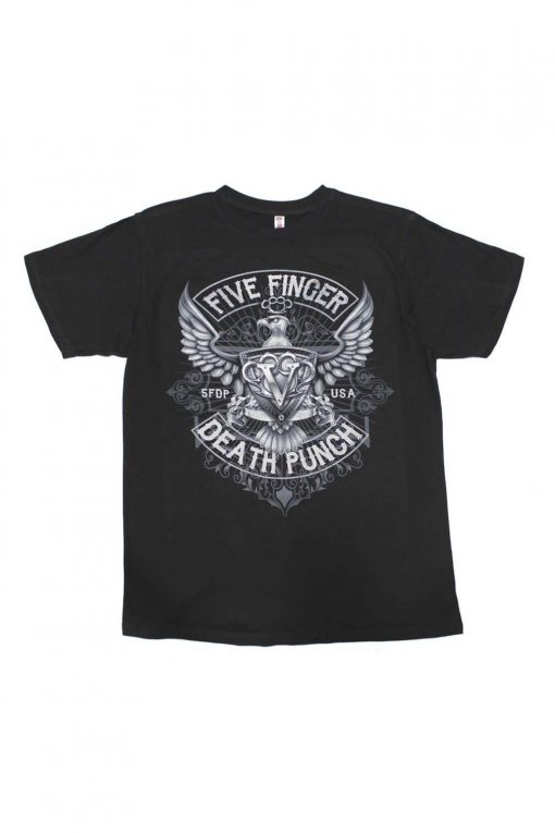 Five Finger Death Punch How Eagle Crest T-Shirt