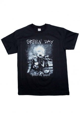 Green Day Nuke Band T-Shirt