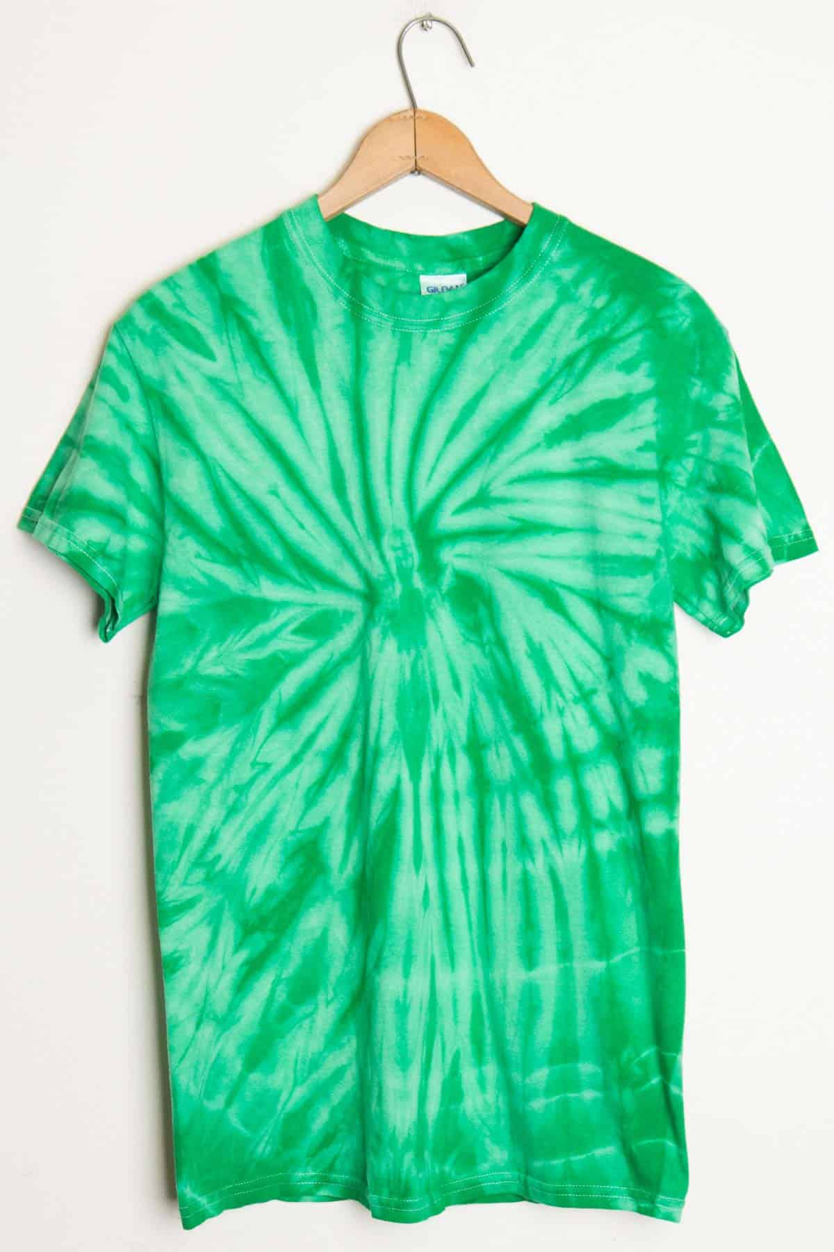 White and green shirt custom shirt for Customized tie dye shirts