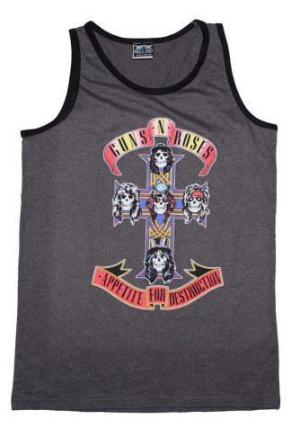 Guns N Roses Appetite For Descruction Band Muscle Tank