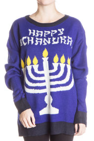 happy chanukkah sweater 190x285 Ugly Christmas Sweaters