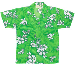 hawaiian-shirt-green-hibiscus-print