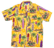 hawaiian-shirt-palms-surfboards-yellow