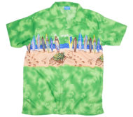 hawaiian-shirt-surfboard-beach-green