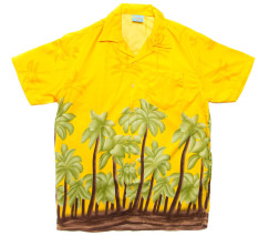 hawaiian-shirt-yellow-large-palm-tree