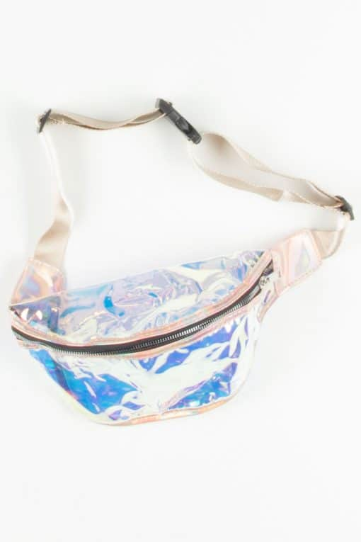 Iridescent Rose Gold Fanny Pack