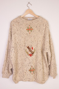 Irish Fisherman Sweater 113