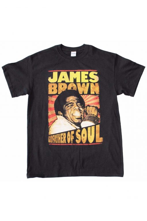 James Brown Godfather Of Sold Band T Shirt